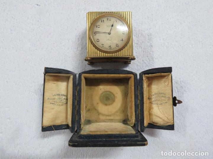 Relojes - Zenith: PRECIOSO RELOJ DE VIAJE DE LA MARCA ZENITH DE 8 DIAS EN SU CAJA ORIGINAL Y FUNCIONA PERFECTO, 1920 - Foto 3 - 174929793