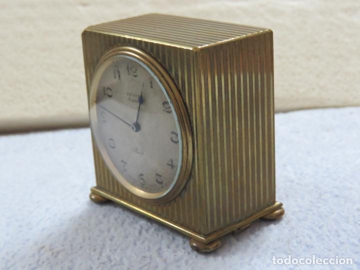 Relojes - Zenith: PRECIOSO RELOJ DE VIAJE DE LA MARCA ZENITH DE 8 DIAS EN SU CAJA ORIGINAL Y FUNCIONA PERFECTO, 1920 - Foto 5 - 174929793