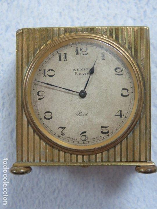 Relojes - Zenith: PRECIOSO RELOJ DE VIAJE DE LA MARCA ZENITH DE 8 DIAS EN SU CAJA ORIGINAL Y FUNCIONA PERFECTO, 1920 - Foto 8 - 174929793