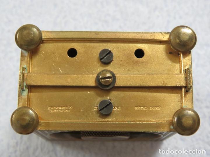 Relojes - Zenith: PRECIOSO RELOJ DE VIAJE DE LA MARCA ZENITH DE 8 DIAS EN SU CAJA ORIGINAL Y FUNCIONA PERFECTO, 1920 - Foto 11 - 174929793