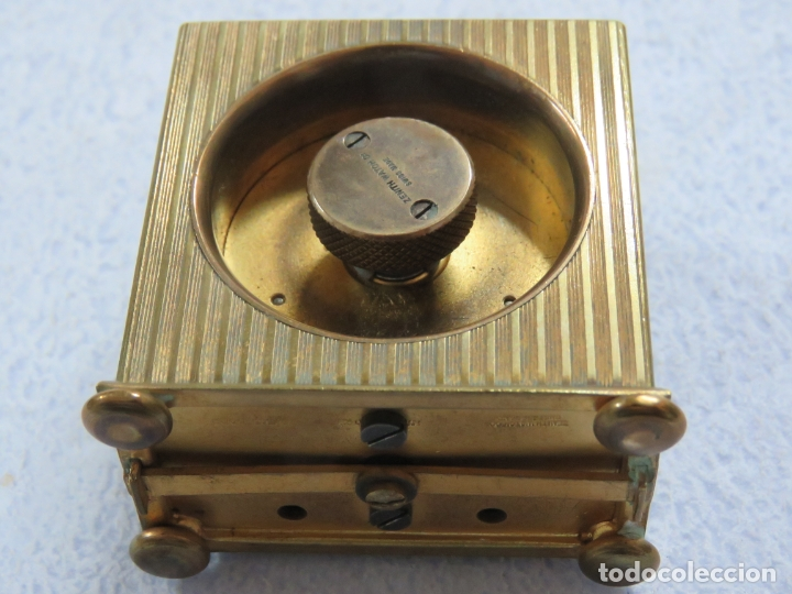 Relojes - Zenith: PRECIOSO RELOJ DE VIAJE DE LA MARCA ZENITH DE 8 DIAS EN SU CAJA ORIGINAL Y FUNCIONA PERFECTO, 1920 - Foto 15 - 174929793