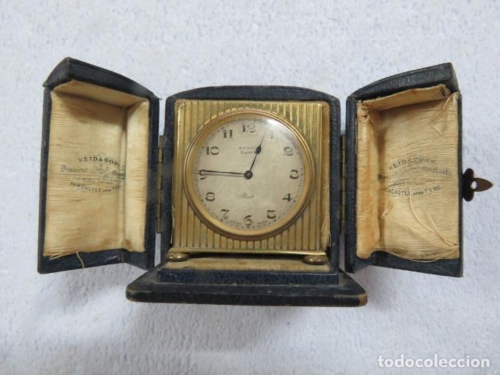 PRECIOSO RELOJ DE VIAJE DE LA MARCA ZENITH DE 8 DIAS EN SU CAJA ORIGINAL Y FUNCIONA PERFECTO, 1920 (Relojes - Relojes Actuales - Zenith)