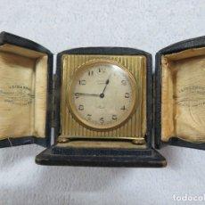 Relojes - Zenith: PRECIOSO RELOJ DE VIAJE DE LA MARCA ZENITH DE 8 DIAS EN SU CAJA ORIGINAL Y FUNCIONA PERFECTO, 1920. Lote 174929793