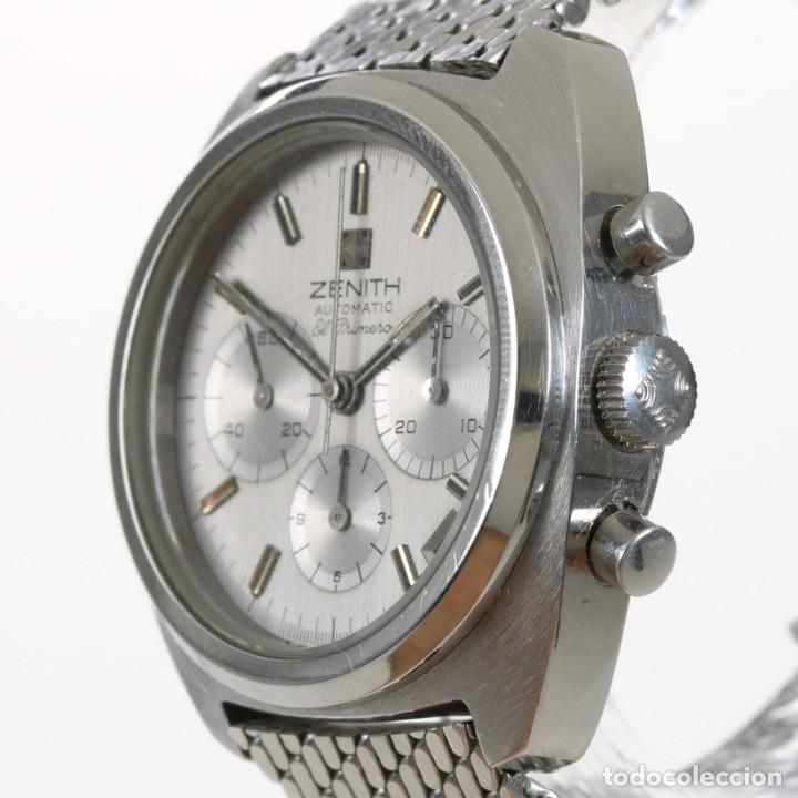 Relojes - Zenith: Zenith El Primero 1970s ref 01-2010-415 + Caja - Foto 4 - 175615078
