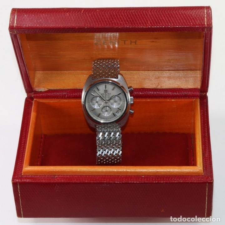 Relojes - Zenith: Zenith El Primero 1970s ref 01-2010-415 + Caja - Foto 6 - 175615078