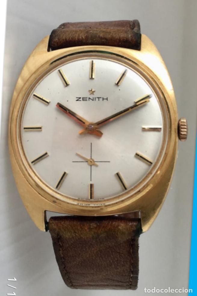 RELOJ VINTAGE ORO AMARILLO 18 KILATES 1950-1959 (Relojes - Relojes Actuales - Zenith)