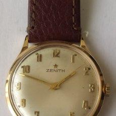 Relojes - Zenith: RELOJ ZENITH SWISS MADE DE ORO ROSA 18K 0,750 FUNCCIONA PERFECTO. Lote 182601101