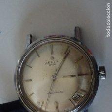 Relojes - Zenith: ANTIGUO RELOJ ZENITH 2600 AUTOMATIC CORREA DE PIEL FUNCIONANDO. Lote 182601587