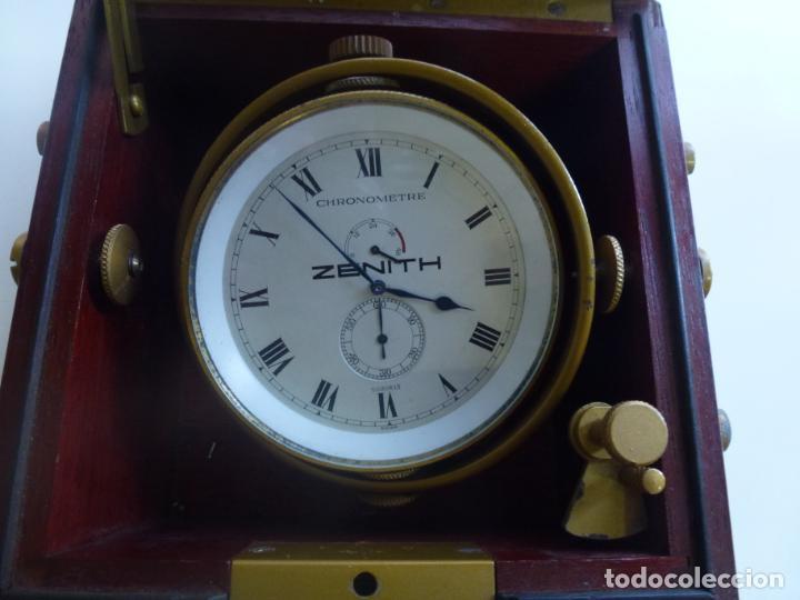 RELOJ NÁUTICO ZENITH CHRONOMETRE. BAKER LYMAN NAUTICAL INSTRUMENTS (Relojes - Relojes Actuales - Zenith)