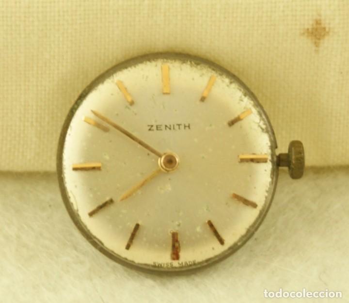 ZENITH CALIBRE + ESFERA ANDA Y PARA CLASICO N14 (Relojes - Relojes Actuales - Zenith)