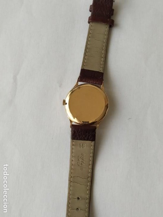 Relojes - Zenith: Vintage RELOJ ZENITH SWISS MADE CAJA DE ORO 18K FUNCIONA PERFECTAMENTE Años 60 - Foto 6 - 190596685