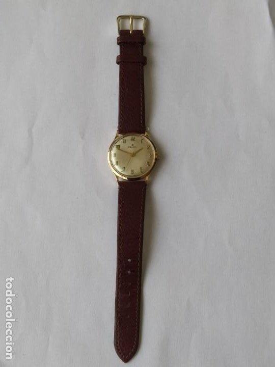 Relojes - Zenith: Vintage RELOJ ZENITH SWISS MADE CAJA DE ORO 18K FUNCIONA PERFECTAMENTE Años 60 - Foto 8 - 190596685