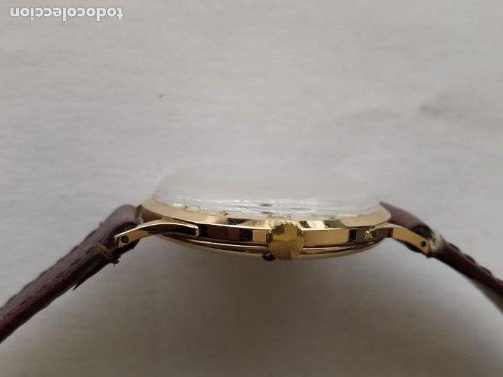 Relojes - Zenith: Vintage RELOJ ZENITH SWISS MADE CAJA DE ORO 18K FUNCIONA PERFECTAMENTE Años 60 - Foto 10 - 190596685