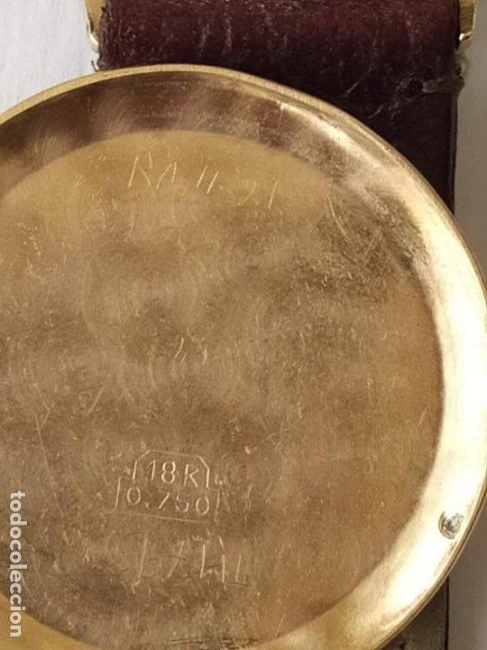 Relojes - Zenith: Vintage RELOJ ZENITH SWISS MADE CAJA DE ORO 18K FUNCIONA PERFECTAMENTE Años 60 - Foto 15 - 190596685
