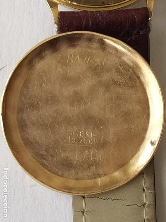 Relojes - Zenith: Vintage RELOJ ZENITH SWISS MADE CAJA DE ORO 18K FUNCIONA PERFECTAMENTE Años 60 - Foto 17 - 190596685