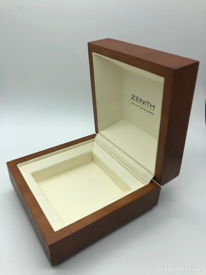 Relojes - Zenith: Caja de madera reloj ZENITH - Foto 3 - 193451338
