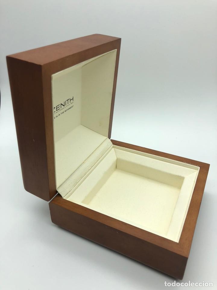Relojes - Zenith: Caja de madera reloj ZENITH - Foto 4 - 193451338