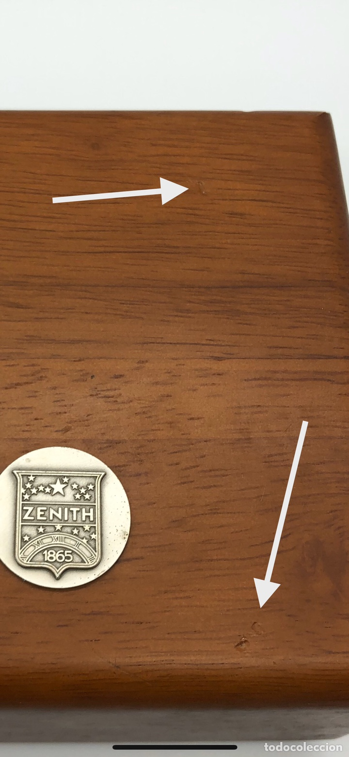 Relojes - Zenith: Caja de madera reloj ZENITH - Foto 7 - 193451338