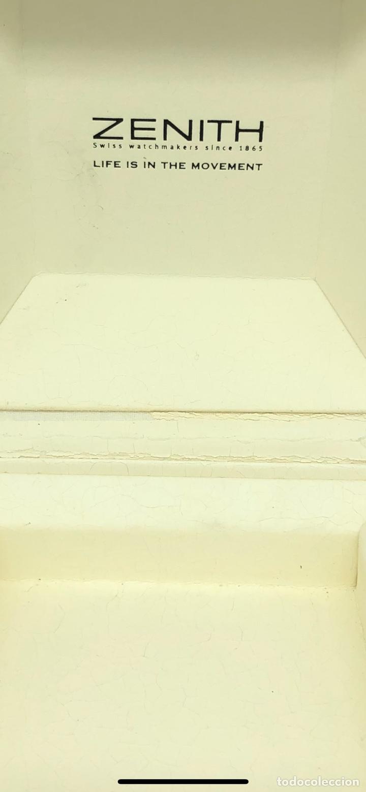 Relojes - Zenith: Caja de madera reloj ZENITH - Foto 8 - 193451338