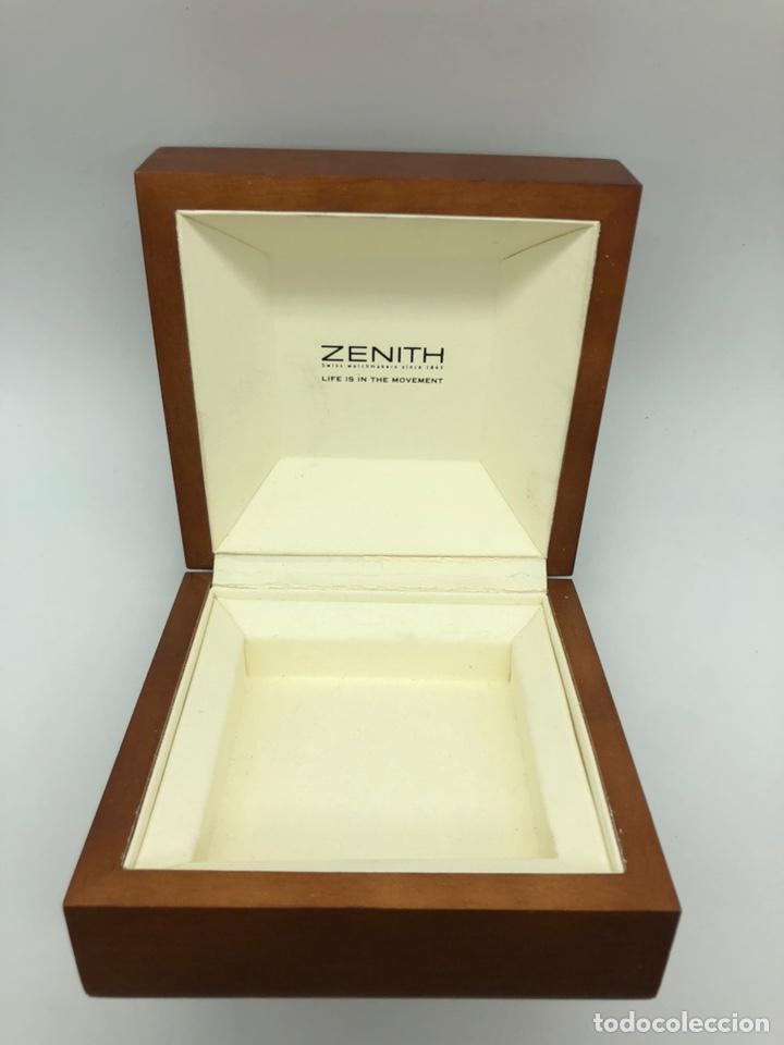 Relojes - Zenith: Caja de madera reloj ZENITH - Foto 2 - 193451338