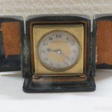 Relojes - Zenith: RELOJ DE VIAJE DESPERTADOR CON SONERIA DE LA MARCA ZENITH EN SU CAJA ORIGINAL Y FUNCIONA BIEN, 1910. Lote 207177443