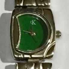 Relojes - Zenith: CALVIN CLEIN 21 M/M.-C/C. MAQUINA ETA QUARTZ . PULSERA MAX.195 M/M.( PULSERA GRANDE. ). Lote 138799654