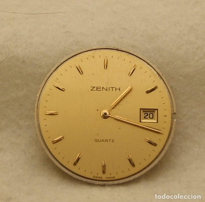 ZENITH QUARTZ CABALLERO ESFERA + MAQUINA ZENITH 61.6 BASE ETA 255.411 (Relojes - Relojes Actuales - Zenith)