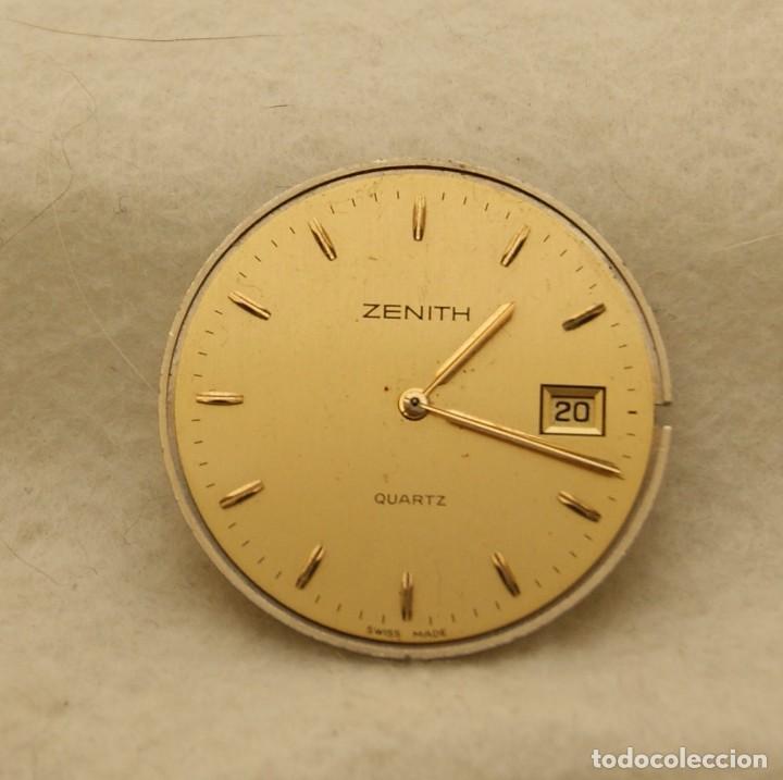 Relojes - Zenith: ZENITH QUARTZ CABALLERO ESFERA + MAQUINA ZENITH 61.6 BASE ETA 255.411 - Foto 2 - 213946157