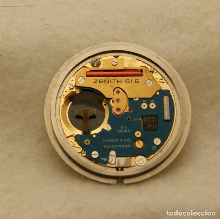 Relojes - Zenith: ZENITH QUARTZ CABALLERO ESFERA + MAQUINA ZENITH 61.6 BASE ETA 255.411 - Foto 3 - 213946157