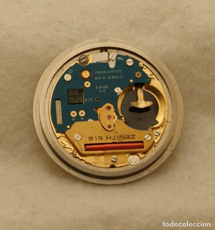 Relojes - Zenith: ZENITH QUARTZ CABALLERO ESFERA + MAQUINA ZENITH 61.6 BASE ETA 255.411 - Foto 4 - 213946157
