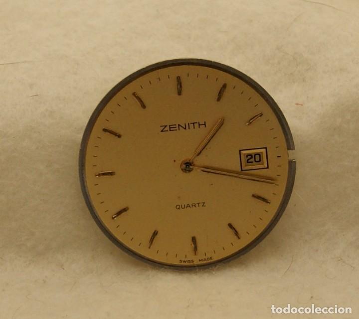 Relojes - Zenith: ZENITH QUARTZ CABALLERO ESFERA + MAQUINA ZENITH 61.6 BASE ETA 255.411 - Foto 5 - 213946157