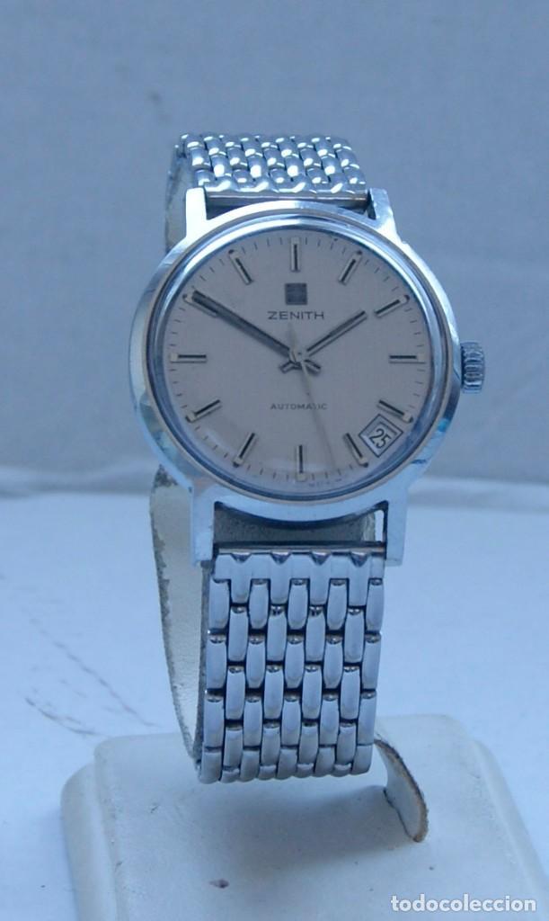 Relojes - Zenith: ZENITH AUTOMATICO ACERO 34MM FUNCIONANDO REVISADO - Foto 2 - 217238958
