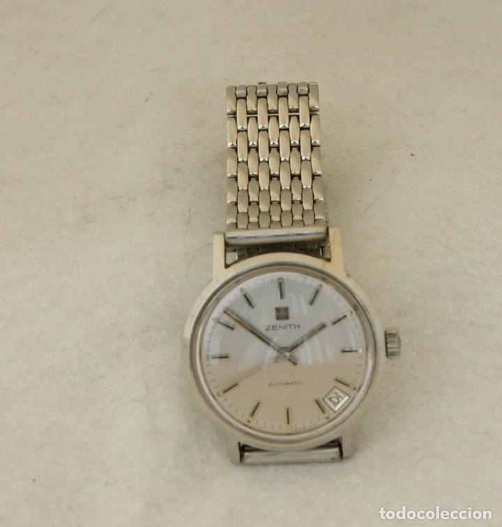 Relojes - Zenith: ZENITH AUTOMATICO ACERO 34MM FUNCIONANDO REVISADO - Foto 8 - 217238958