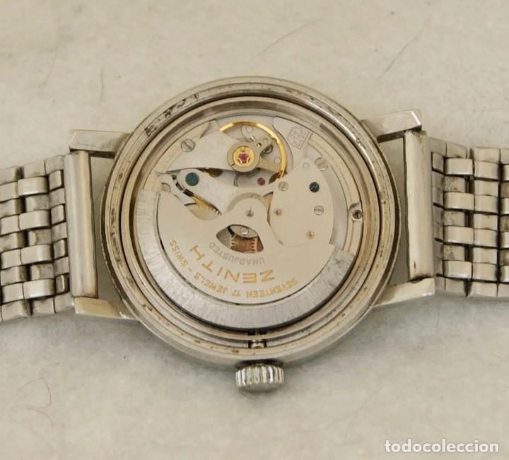 Relojes - Zenith: ZENITH AUTOMATICO ACERO 34MM FUNCIONANDO REVISADO - Foto 11 - 217238958