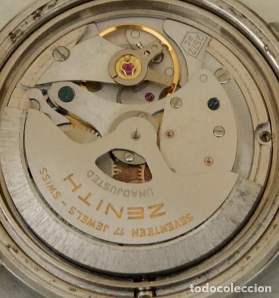 Relojes - Zenith: ZENITH AUTOMATICO ACERO 34MM FUNCIONANDO REVISADO - Foto 12 - 217238958