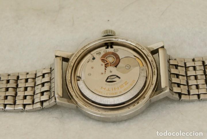 Relojes - Zenith: ZENITH AUTOMATICO ACERO 34MM FUNCIONANDO REVISADO - Foto 14 - 217238958