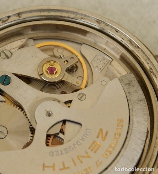 Relojes - Zenith: ZENITH AUTOMATICO ACERO 34MM FUNCIONANDO REVISADO - Foto 18 - 217238958