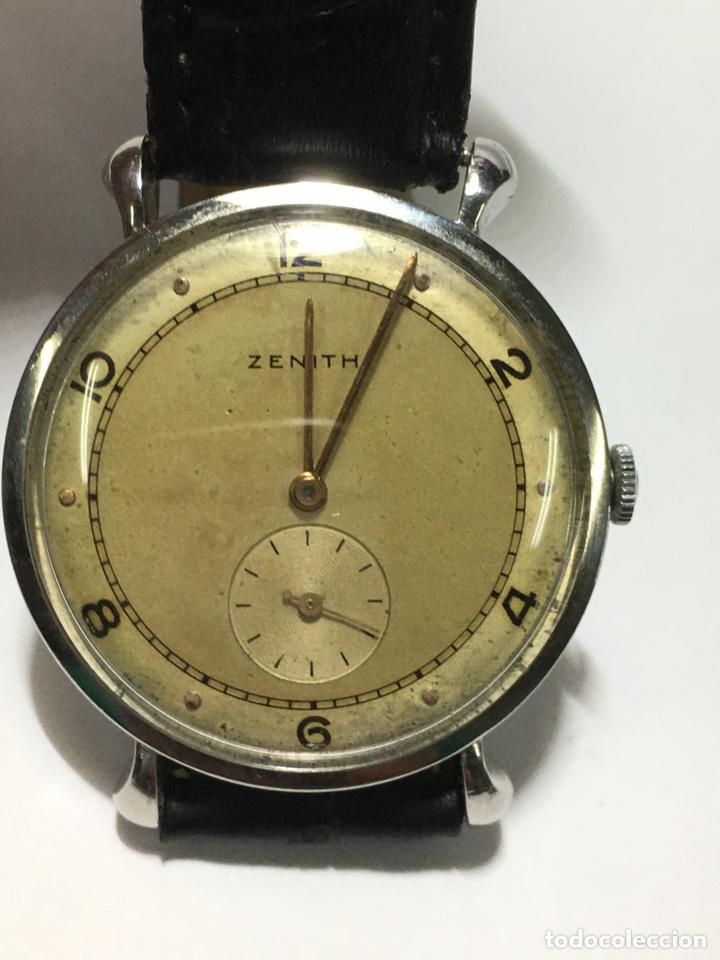 RELOJ ZENITH CARGA MANUAL CAJA DE ACERO EN FUNCIONAMIENTO VINTAGE (Relojes - Relojes Actuales - Zenith)