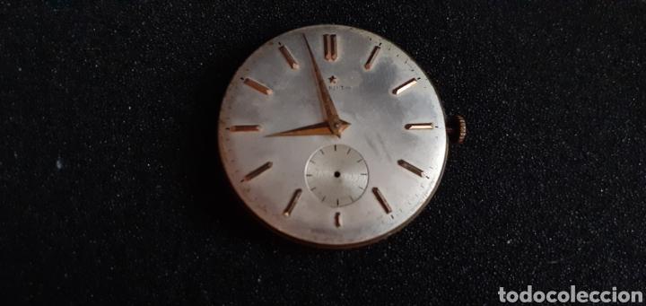MAQUINARIA DEL RELOJ ZENITH FUNCIONA BIEN .MIDE SIN CORONA 35 MM DIAMETRO TAL CUAL COMO SE VE (Relojes - Relojes Actuales - Zenith)