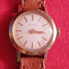 Relojes - Zenith: RELOJ ZINETH DE SEÑORA DE CUERDA FUNCIONA BIEN.MIDE 18MM DIAMETRO. Lote 222112493