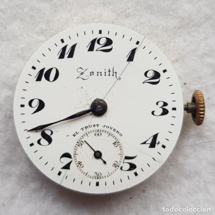 CALIBRE ZENITH + ESFERA CIRCA 1920 TIJA A LAS 3 SABONETA O PULSERA 25MM A29 (Relojes - Relojes Actuales - Zenith)