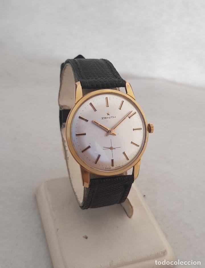 ZENITH MECANICO CLASICO CALIBRE 2541 BUEN ESTADO 33MM FUNCIONANDO (Relojes - Relojes Actuales - Zenith)