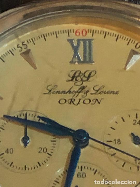 Relojes - Zenith: RELOJ ALEMAN DE LUJO LINNHOFF & LORENZ ADVOKAT CRONO GERMAN LUXURY WATCH - Foto 3 - 224713428