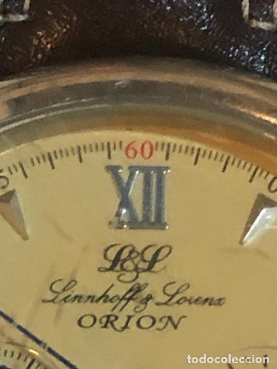 Relojes - Zenith: RELOJ ALEMAN DE LUJO LINNHOFF & LORENZ ADVOKAT CRONO GERMAN LUXURY WATCH - Foto 5 - 224713428