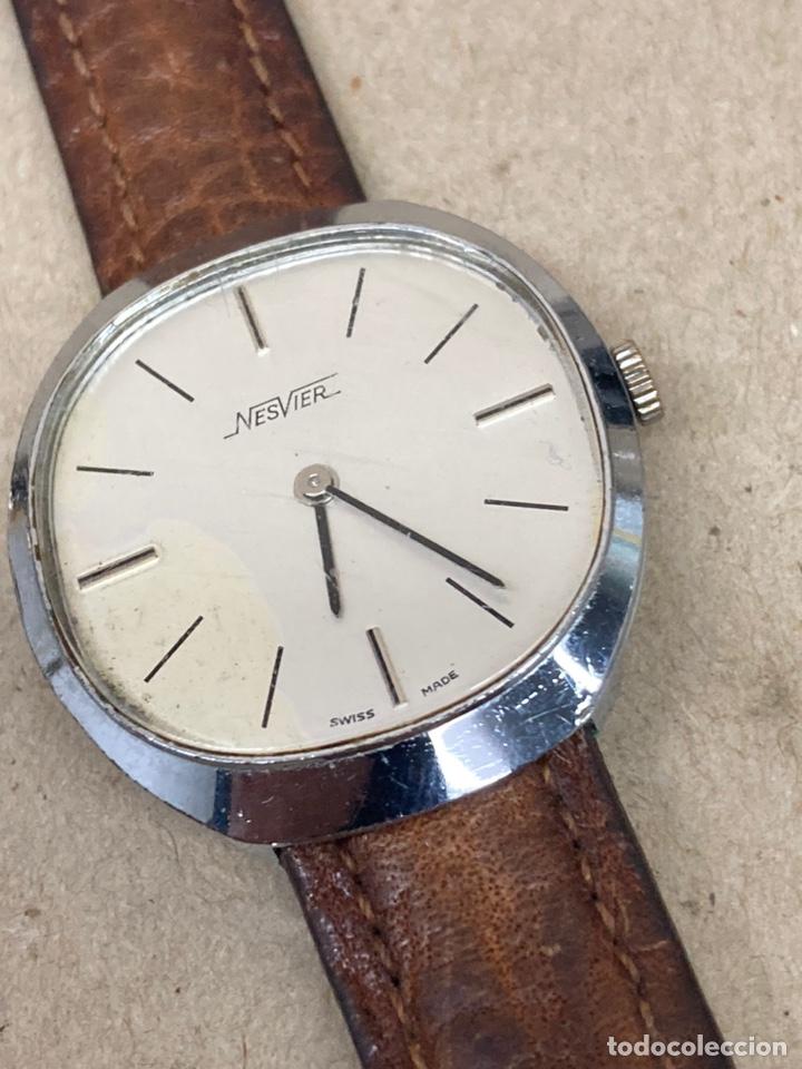 Relojes - Zenith: Reloj Nesvier carga manual vintage - Foto 2 - 224966035