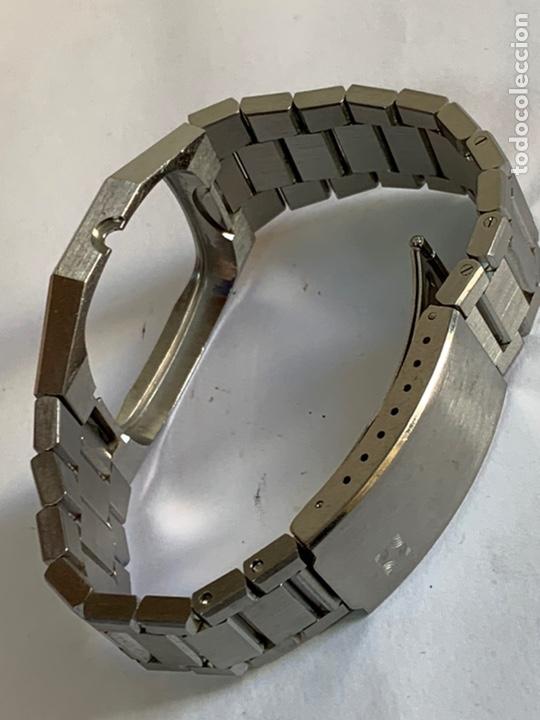 CORREA Y CARCASA ZENITH VINTAGE DE ACERÓ INOXIDABLE ORIGINAL. (Relojes - Relojes Actuales - Zenith)