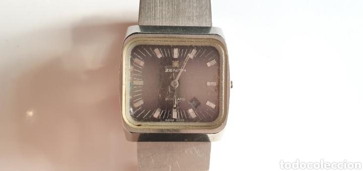 RELOJ ZENITH AUTOMATICO FUNCIONA IEN LE FALTA LA CORONA .MIDE 27 MM DIAMETRO (Relojes - Relojes Actuales - Zenith)