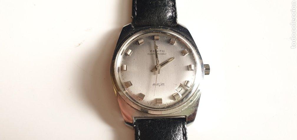 RELOJ ZINETH AUTOMÁTICO AF/P FUNCIONA BIEN .MIDE 34 MM DIAMETRO (Relojes - Relojes Actuales - Zenith)