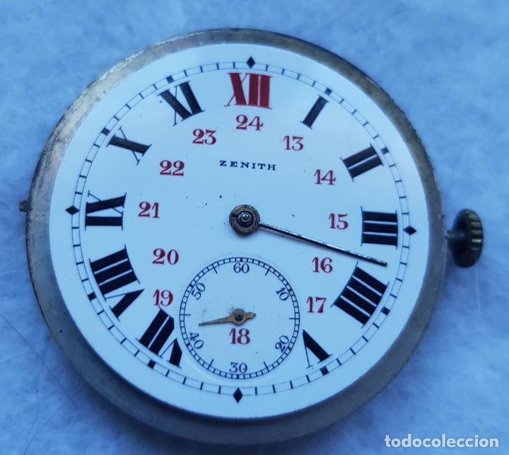 ZENITH ANTIGUO ESFERA PORCELANA + CALIBRE + BATA MANUFACTURA (Relojes - Relojes Actuales - Zenith)