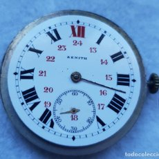 Relojes - Zenith: ZENITH ANTIGUO ESFERA PORCELANA + CALIBRE + BATA MANUFACTURA. Lote 239425635